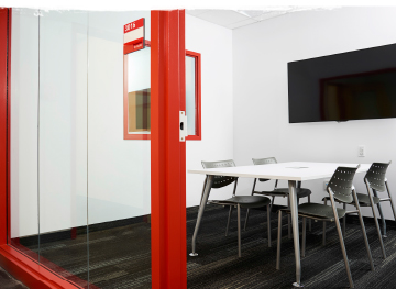 A YSpace meeting room